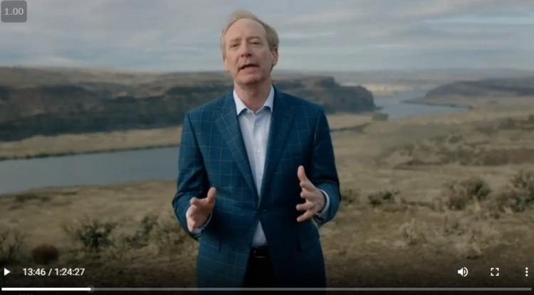 Microsoft CEO Brad Smith at Engage 2020